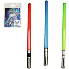 Lot de 2 sabres laser gonflable vert, bleu ou rouge - Jouet Jedi genre Star wars