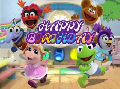 Happy Birthday Muppet Banner
