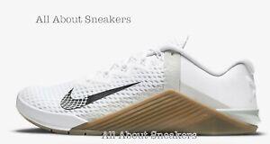 Nike-metcon-6-034-Bianco-Gum-Marrone-Scuro-Grigio-034-Uomo-Scarpe-da-ginnastica-LIMITED-STOCK-Tutte