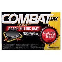 Combat 12 Month Roach Bait - 18 Ct (6 Pack)
