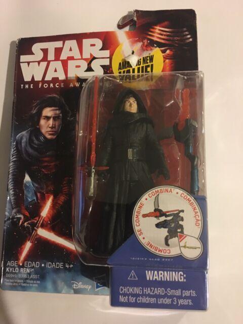 Star Wars Action Figure 3.75 inch Unmasked Kylo Ren The Force Awakens