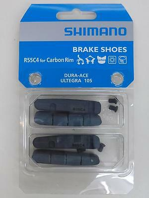 2x Shimano R55C4 Road Brake Pads inserts Dura-Ace Ultegra 105