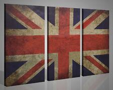 Quadri moderni canvas LONDON FLAG stampe su tela londra arredamento pub 130 x 90