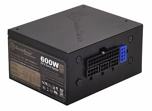 SilverStone SX600-G Tech 600W SFX Form Factor Full Modular Power ...