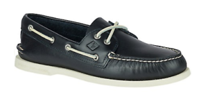 Sperry Top-Sider A/O Authentic Original 2 Eye Navy Boat Shoe Men's sizes 7-16