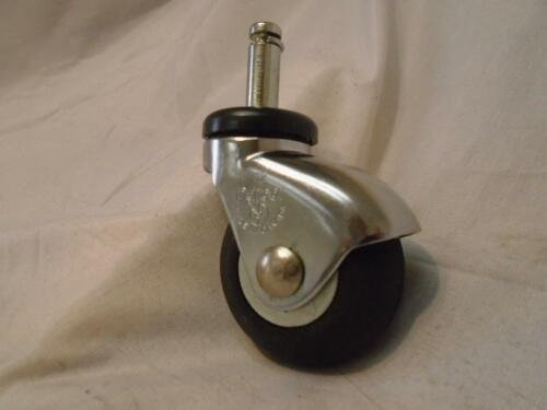 """Chair Institutional Stem Caster 2/"""" x 3//8/"""" x 1/"""" Grip Ring"""