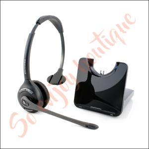 PLANTRONICS CS510 - Casque sans-fil serre-tête 1 écouteur pour Téléphone fixe