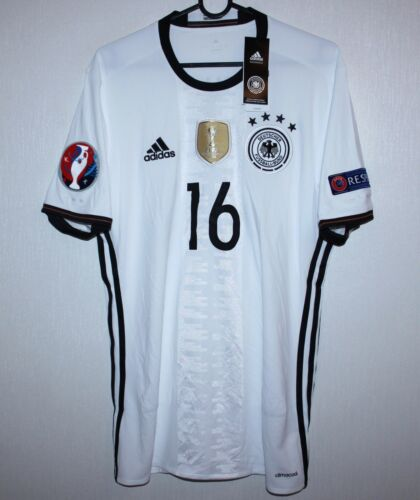 Germany National m home shirt 1617 #16 Tha Adidas BNWT Size M