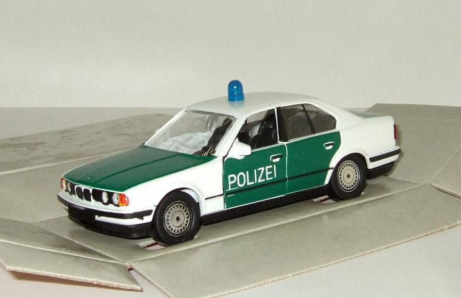 BMW 535 i E34 1985-1996 Polizei Schabak one siren 1 43