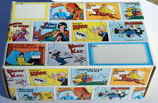 Comic Strip Characters MAILER BOX w Flash Gordon Krazy Kat Popeye Yellow Kid etc