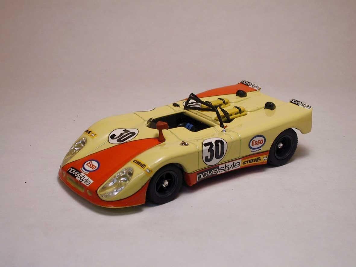 Porsche 908 2 platija dnf LM 1971 L. Cosson h. Leuze 1 43 Model