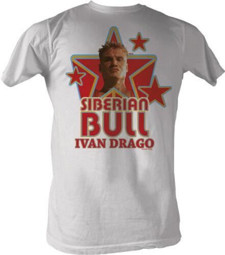 Rocky Siberian Bull Ivan Drago Adult T Shirt Classic Movie