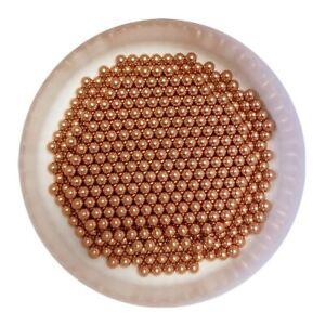 2mm 2000pcs Solid Copper Bearing Balls Min 99.9/% Cu