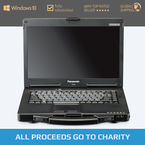 Panasonic Toughbook CF-53 Mk2 - Intel i5 - Windows 10 Rugged Diagnostics Laptop