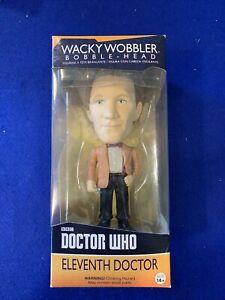 Funko Doctor Who Eleventh Doctor Wacky Wobbler Bobble Head Figure 2009