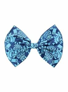 DR-WHO-DOCTOR-TARDIS-TIME-MACHINE-BLUE-BARRETTE-HAIR-CLIP-BOW-COSPLAY-XMAS-GIFT