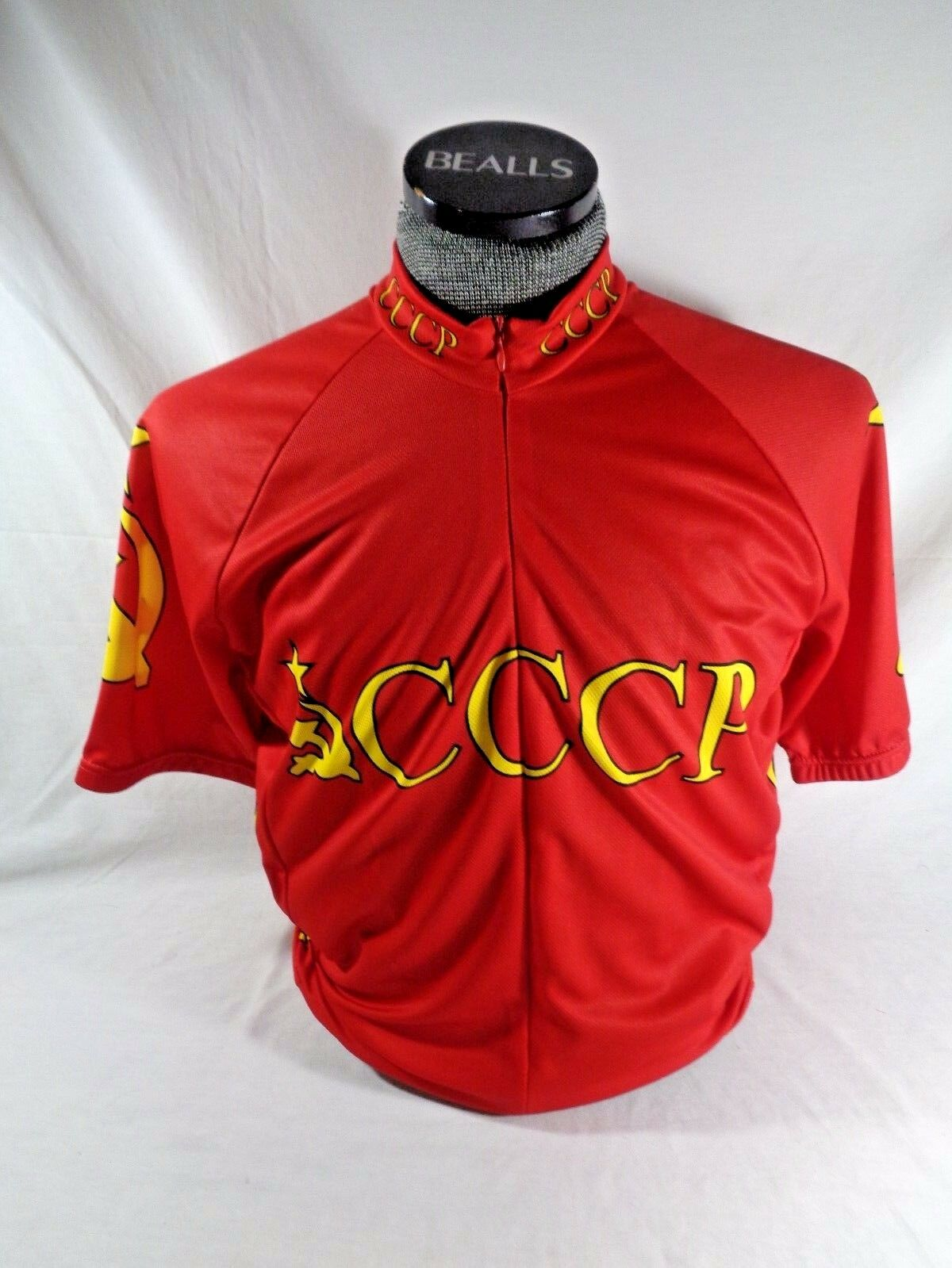 World Jerseys  Soviet Union Russia CCCP Cycling Bike Jersey Mens XL Extra Large  factory outlet