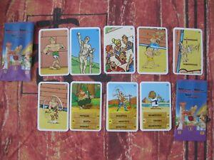 Asterix Aux Jeux Olympiques / Cora / 9 Autocollants
