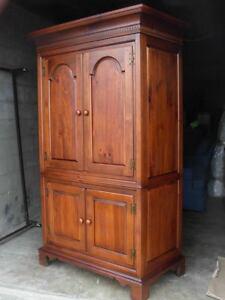 antique furniture armoire shabby chic image is loading rarevintagearmoiredixiefurnitureusamadecherry rare vintage armoire dixie furniture usa made cherry finish