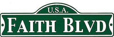 Green Street Room Sign Personalized  ~ USA JOSE BLVD ~ Stocking Stuffer ~ JOSE