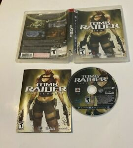 Tomb Raider: Underworld (Sony PlayStation 3, 2008) COMPLETE TEEN PS3 ACTION