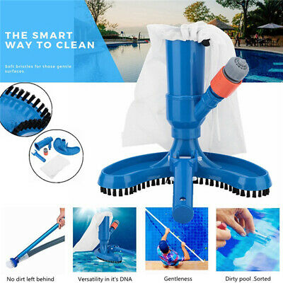 Pool Cleaner Swimming Pond Fountain Vacuum Cleaner Brush Suction Cleaning  Tool | eBay