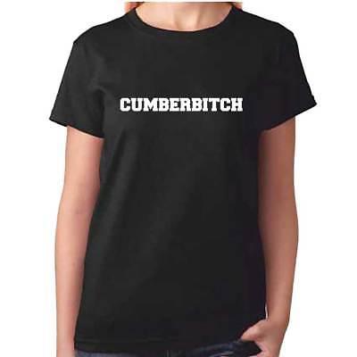 Benedict Cumberbatch Sherlock Cumberbitch T-Shirt Tee T Shirt Adult S M L XL
