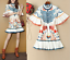 2018-Occident-Runway-Chic-Horn-Sleeve-Womens-Positioning-Printing-Fishtail-Dress thumbnail 1