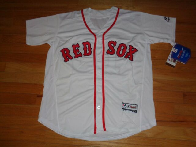 b2d5bd011 Boston Red Sox Hanley Ramirez White Home Jersey MLB Majestic Flex Base-  Size 44