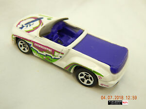 HOT-WHEELS-DODGE-SIDEWINDER-CONVERTIBLE-WHITE-1996-MALAYSIA-USED-ENJOYED-AS-IS