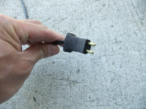 """Electrolux Eureka Hoover Pigtail Power Cord Hose End 19/"""" fit Filter Queen"""