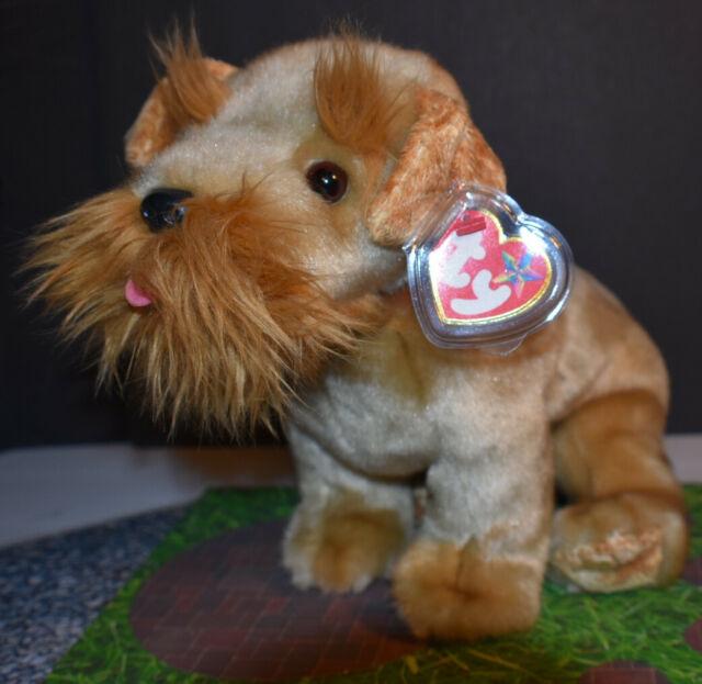 """TY Beanie Buddies """"Schnitzel"""" PUPPY DOG Terrier 2003 12 Inches Tall"""