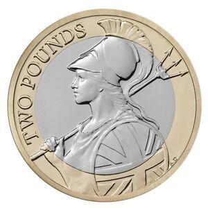 2015 163 2 Britannia Classic Coin Hunt 32 32 Two Pound Rare 2