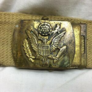 Vintage  Solid  Brass  Belt  Buckle    NORM
