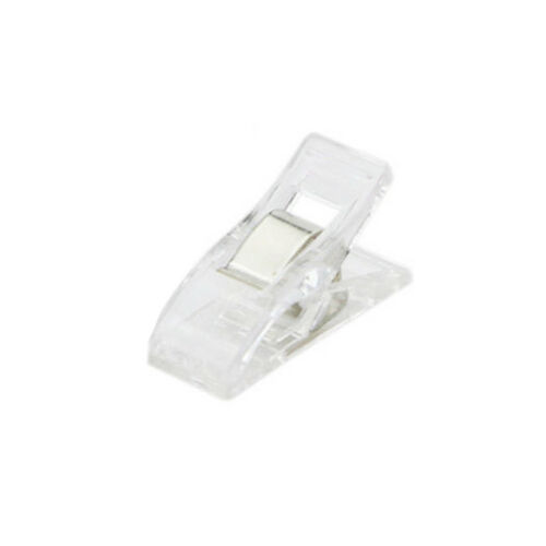 NEW 10X Plastic Strong Clip Patchwork Sewing Edge Positioning Clips Fixed Buckle