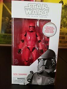 "Sith Trooper 6/"" The Black Series STAR WARS MIB #92 FIRST Edition"