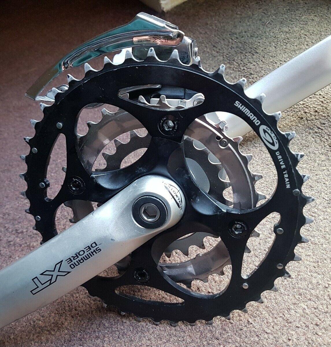 Shiuomoo FCM751 Deore XT pedaliera in, XT BB BB BB & XTTipo E Mech. in buonissima condizione. ebc
