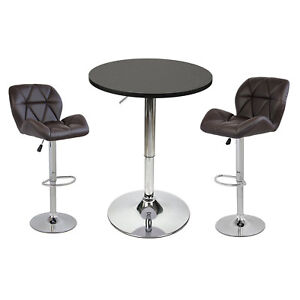3-Piece-Bar-Table-Set-Pub-Stools-Counter-Height-Chairs-Swivel-Kitchen-Furniture
