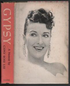 Gypsy Rose Lee: Gypsy - A Memoir SIGNED FIRST EDITION