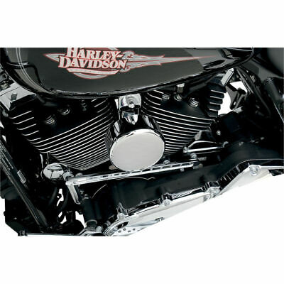 Drag Specialties Black Flame Horn Cover for 1991-2018 Harley