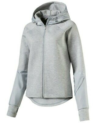 Puma Damen Sweat Sweater Freizeit Jacke Trainingsjacke