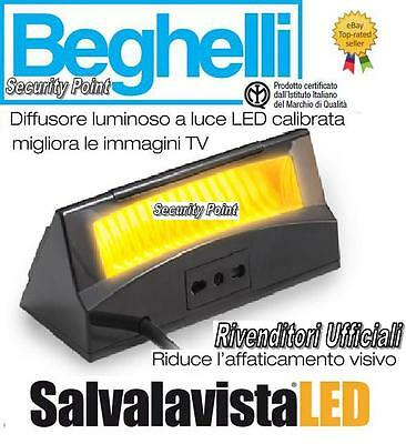 BEGHELLI SALVALAVISTA LED TV SALVAVISTA LUCE AUTOMATICA DIMMERABILE SALVA VISTA