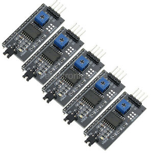 5PCS-IIC-I2C-Serial-Interface-Adapter-Board-Module-For-Arduino-1602-2004-LCD