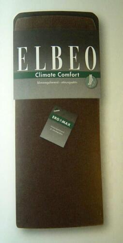 Elbeo Strickstrumpfhose Climate Comfort 934300 schwarz anthrazit melange NEU
