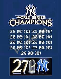 Image result for yankees world series wins