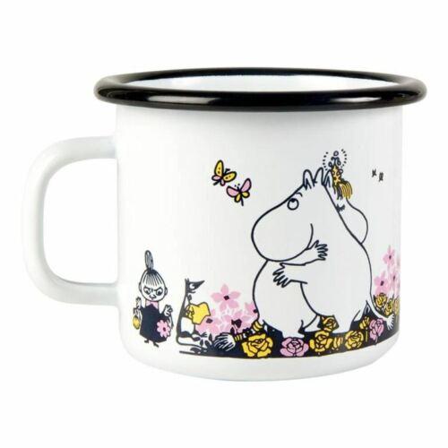 Muurla Moomin Mug Enamelled Steel Cup Classic Moomins NEW WINTER XMAS DESIGN