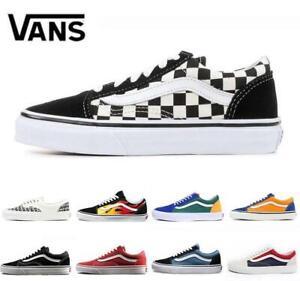 Dettagli su VANS off THE WALL 2020 Old Skool Scarpe Casual da Skateboard Rock dal 36 al 44