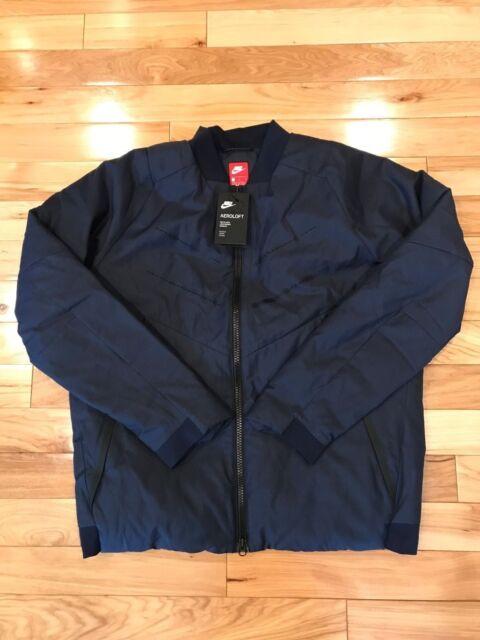 c445b833b Nike Sportswear Aeroloft Bomber Obsidian Jacket 863726 451 Men's ...