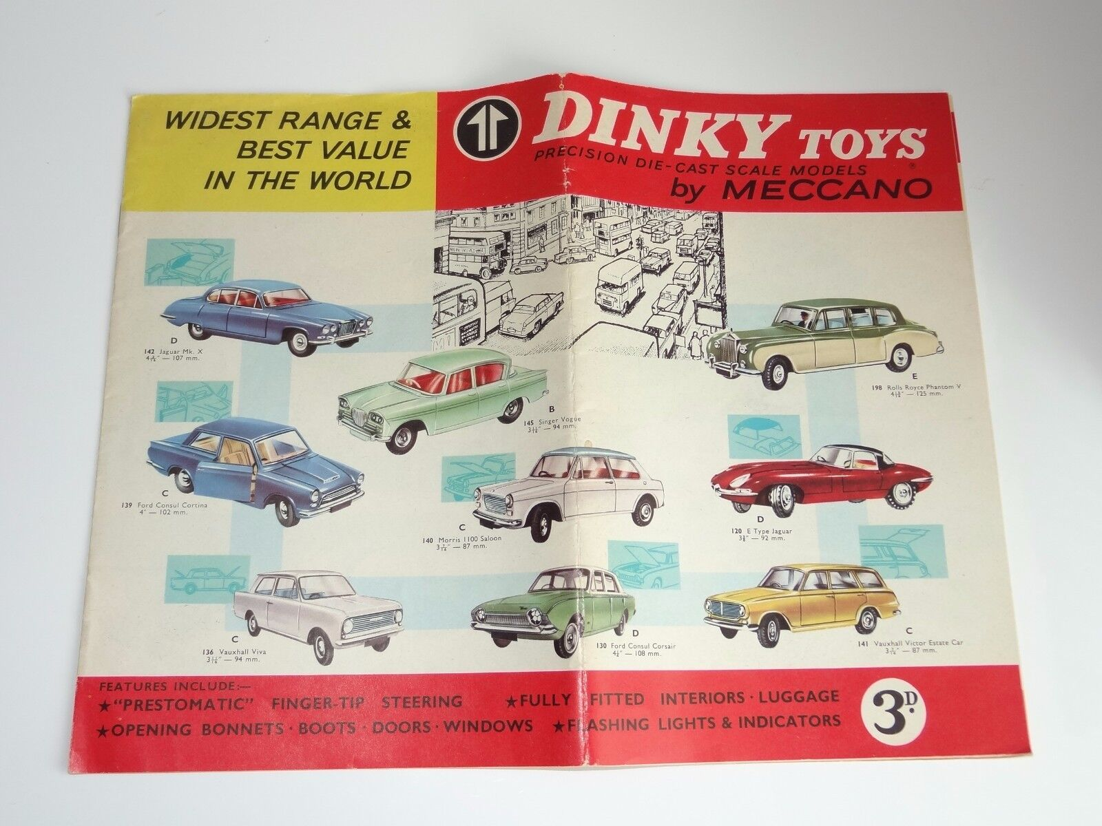 Dinky CATALOGUE 12th edition - 1964