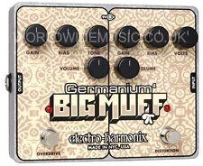 EHX Electro Harmonix Germanium BIG MUFF Distortion Effects Pedal / Stomp Box
